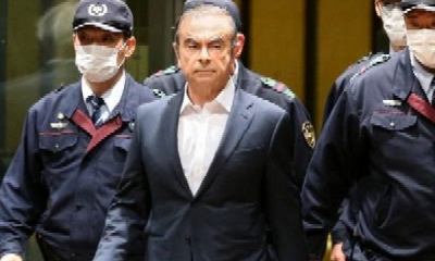 American Father, Son Sentenced For Smuggling Ex-Nissan Boss Out Of Japan In A Box On A Private Jet - autojosh
