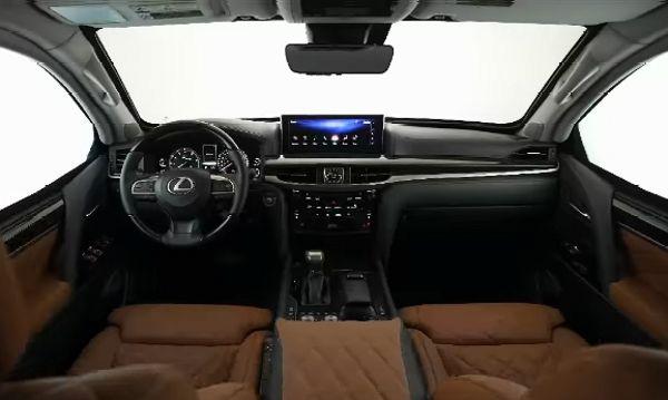 INKAS Reveals Ultra-luxury 'VIP Version' Of Its Armored Lexus LX 570 Limousine - autojosh