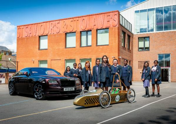 Rolls-Royce Presents Green Power Car To 8 Year Old 'Young Designer Competition Winner' - autojosh