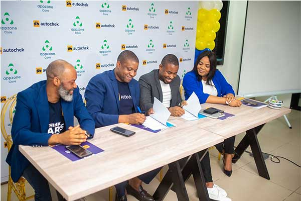 Autochek, Appzone Sign Deal On Innovative Auto Loan Solution Delivery In Nigeria