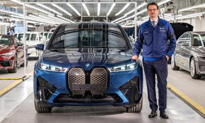 BMW iX Electric SUV Enters Production At The Dingolfing Plant - autojosh