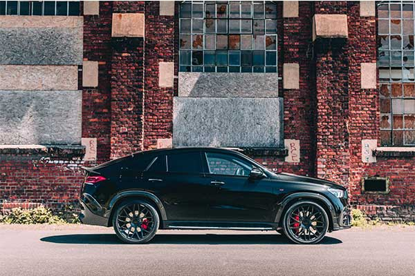 Brabus Upgrades Mercedes-Benz GLE Coupe Into An 800 Hp Monster