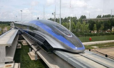 China's High-speed Maglev Train That Can Travel From Lagos To Ibadan In 16 Mins Rolls Off Production Line - autojosh