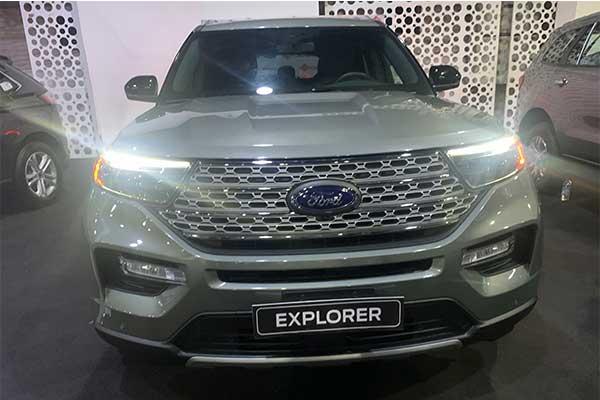 Coscharis Motors Exhibits The 6th Gen Ford Explorer At The 2021 Lagos Motor Fair