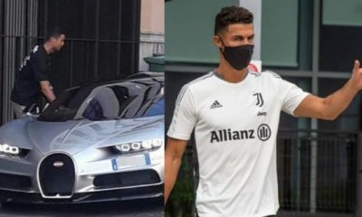 Cristiano Ronaldo And His $22M Car Collection Are Staying In Italy, As Juventus Star Returns To Training - autojosh