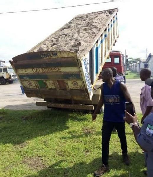 Customs Seizes Cannabis 'Igbo' Worth N91.5m Hidden Under Truckload Of Sand - autojosh