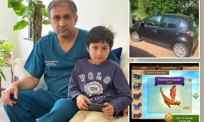 Dad Forced To Sell His Car After 7-yr Son Racked Up £1,300 Bill In 1-hour On A Mobile Phone Game - autojosh