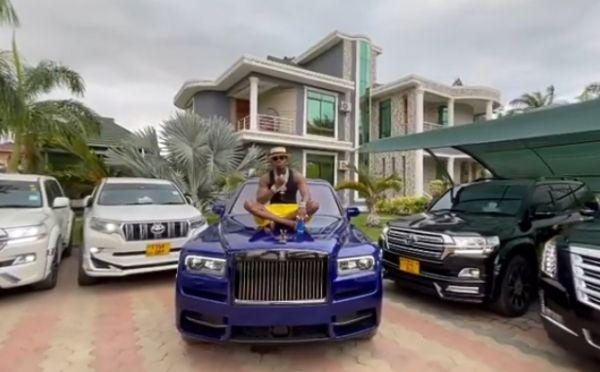 Tanzanian Artist Diamond Platnumz Acquires 2021 Rolls-Royce Cullinan, Flaunts His Impressive Car Collection - autojosh