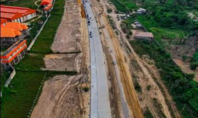 Drone View Of Ongoing 18.7-km, 6-lane Lekki-Epe Expressway Road Project - autojosh