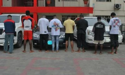 Toyota Land Cruiser, 2 Lexus SUVs, Among Items Recovered By EFCC From Yahoo Boys In Port Harcourt - autojosh