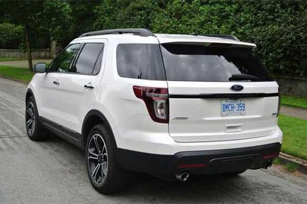 Ford Recalls More Than 700K Previous Generation Explorer Worldwide