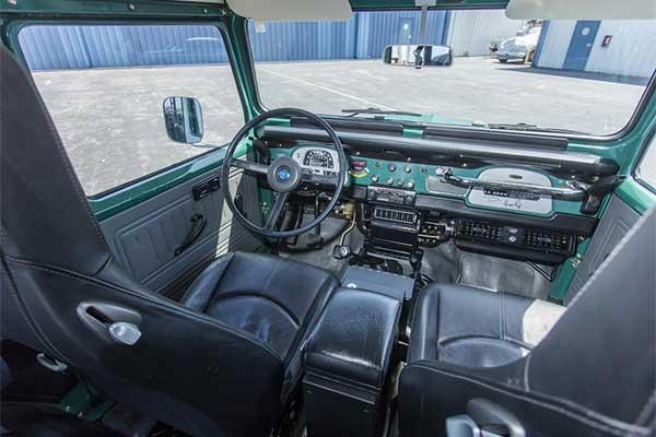 Actor Tom Hanks Auctions His 1980 FJ40 Toyota Land Cruiser
