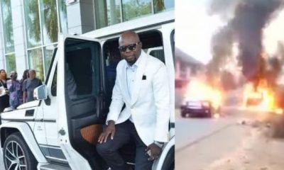 Billionaire Football Club Owner, Manager Killed In Anambra Attack, Their Convoy Burnt - autojosh