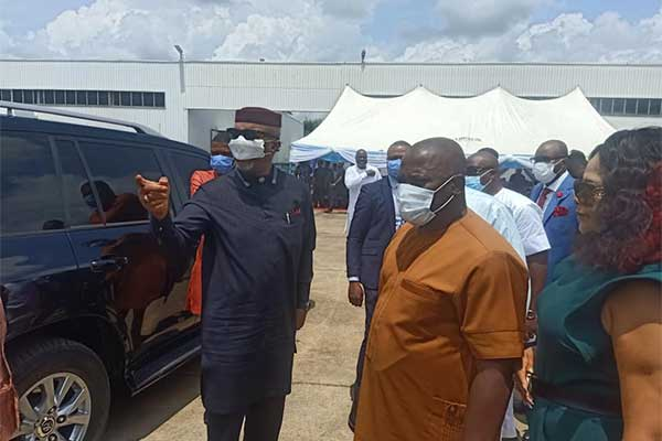 Innoson Unveils Two Manufacturing Plants And One Automated Robotic Spraying Booth