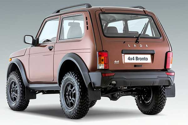 Russian Car Manufacturer Lada Updates Niva SUV With New Bronto Trim