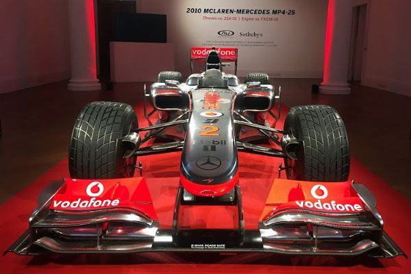 Lewis Hamilton's Championship-winning McLaren Formula 1 Car Sells For $5.7m (₦2.3 Billion) - autojosh