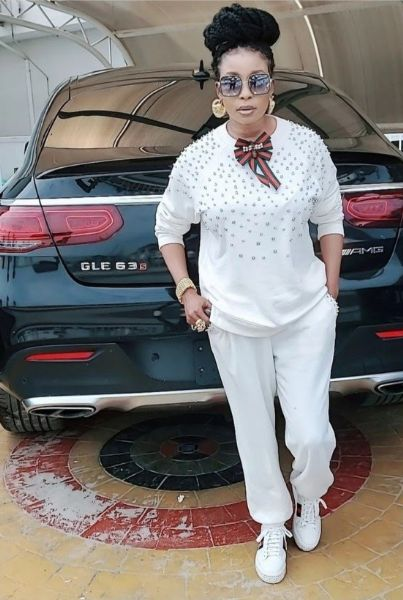 Nollywood Actress Liz Anjorin Receives Mercedes-AMG GLE 63 S SUV As Push Gift From Husband - autojosh