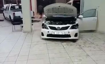 Amid South Africa's Protest, Looters Strips Parts From Brand New Cars At Toyota Dealership - autojosh