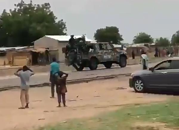 Moment Truck Ferrying Soldiers Crashes While Speeding To Rescue Civilians Kidnapped By Boko Haram [Video] - autojosh