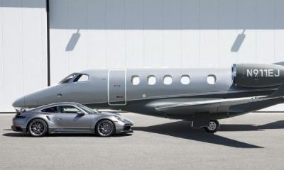 Porsche And Embraer Deliver First Car-Jet Combo Consisting Of Matching 911 And Phenom 300E, Remains 9 - autojosh
