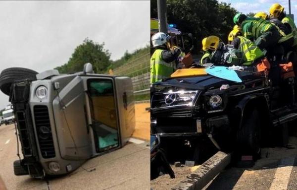 Premier League Footballers Who Crashed Their Mercedes-Benz G-Wagon SUVs Due To Over-speeding - autojosh