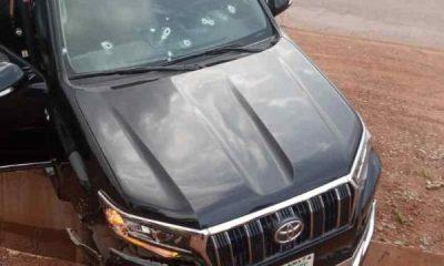 Toyota Prado Riddled With Bullets As Gunmen Kills DG SEDI 'Prof. Ndubjusi, Orderly - autojosh
