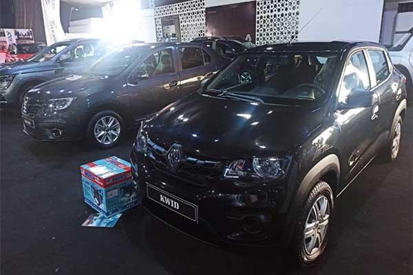 Coscharis Motors Flaunts Locally Assembled Renault Vehicles At Lagos Motor Fair