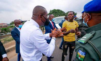 No Room For Criminals In Lagos Az Sanwo-Olu Arrests Three Machete-wielding Criminals In Ojota - autojosh