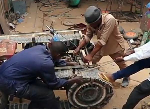 Somali Mechanic Becomes National Icon After Building DIY Tank - autojosh