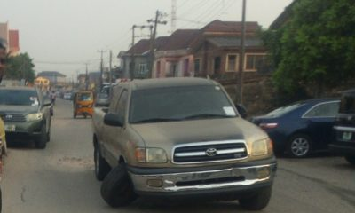 Toyota Tacoma Suffers Catastrophic Ball Joint Failure In Lagos, Here Are The Causes - autojosh