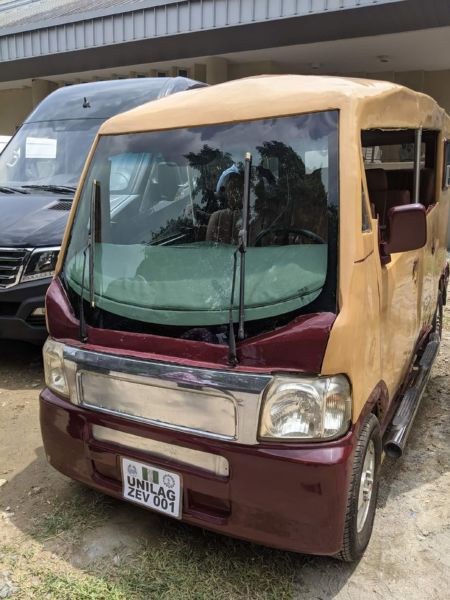 UNILAG ZEV 001, An Electric Car Made By UNILAG Engineering Students, Goes On A Test-drive - autojosh