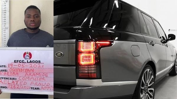 How Yahoo Boy Was Arrested While Trying To Use Bitcoin To Buy N42 Million Range Rover SUV - autojosh