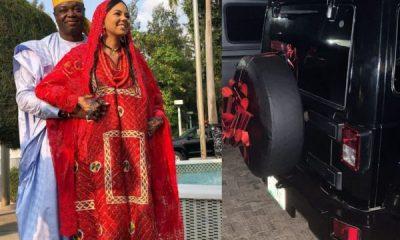 Billionaire's Daughter Adama Indimi Gets Jeep Wrangler SUV From Husband On Their First Wedding Anniversary - autojosh