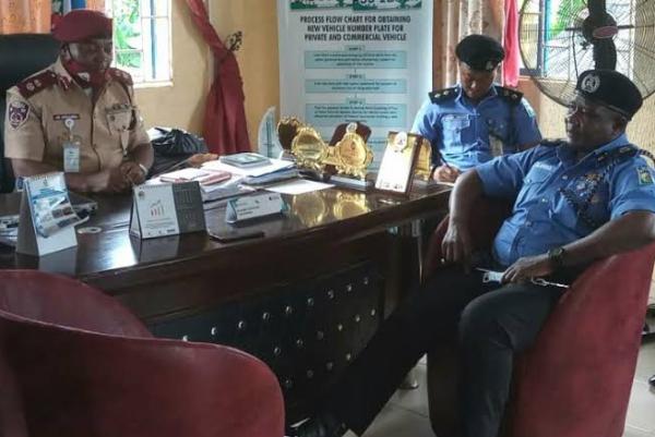 FRSC Partners Police On Traffic Control In Enugu - autojosh