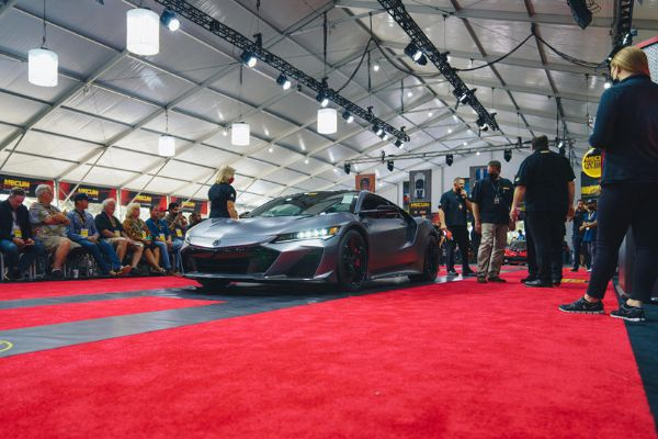 The First 2022 Acura NSX Type S Just Sold For $1.1 Million - autojosh
