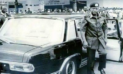 Ex-Military Head of State Ibrahim Babangida Arrives Akwa-Ibom In A Mercedes-Benz 600 In 1987 - autojosh