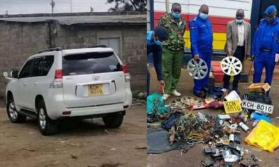Man Shocked After His Stolen Toyota Land Cruiser Was Found Dismantled And Sold By Thieves - autojosh