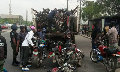 Lagos State TaskForce Impounds 57 Commercial Motorcycles At Costain, CMS, Others - autojosh