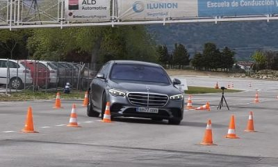 Watch How Big And Heavy 2022 Mercedes-Benz S-Class Deals With The Dreaded Moose Test - autojosh