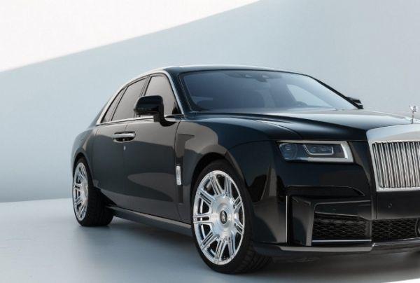 Spofec Rolls-Royce Ghost Is A 676-HP Ultra-luxury Sedan On Steroids - autojosh