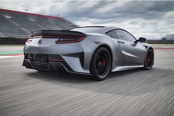 Acura Launches NSX Type-S Limited Edition Model With A 600Hp Engine (Photos)