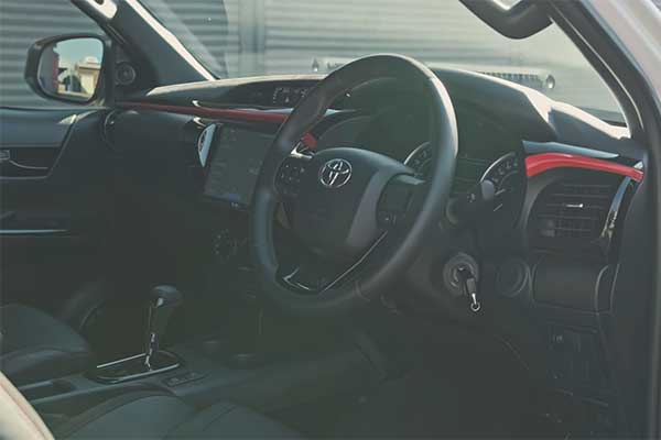 Check Out This 2019 Toyota Hilux Fitted With A 6.2 V8 AMG Engine