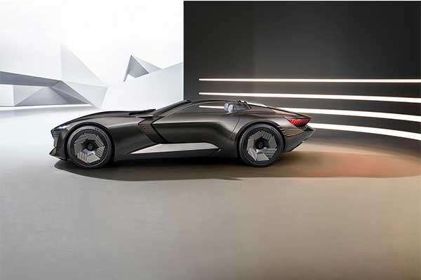 Audi Showcases A Shapeshifting Concept EV Roadster Called Skysphere