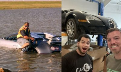 $1.1m Bugatti Veyron Purposely Driven Into Lake To Scam Insurance Company Is Finally Being Rebuilt - autojosh