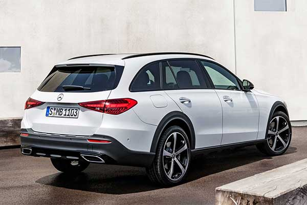 Mercedes-Benz Launches C-Class All-Terrain Version Which Can Literally Go Off-Road