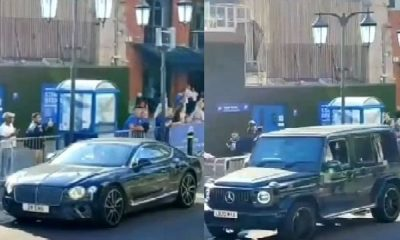 Footage Of Chelsea Players Leaving Stamford Bridge In Their Luxury Cars After Victory Vs Crystal Palace - autojosh