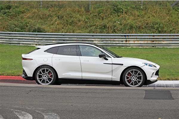 Aston Martin DBX Hybrid Testing At The Nürburgring: Uses AMG-Sourced V6