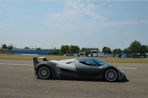 Devel Has Begun Testing Its 5000hp 12.3-Litre V16 Sixteen Hypercar Prototype