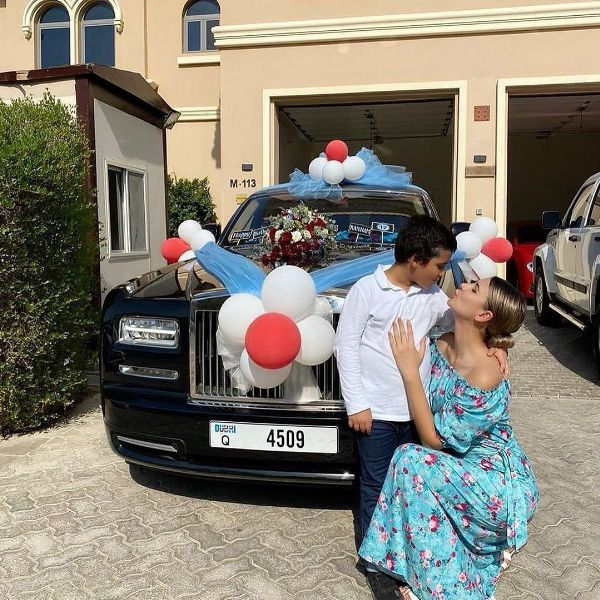 Dubai-based Fashion Designer Buys Rolls-Royce For Son As 12th Birthday Gift - autojosh