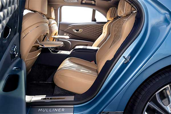 Enter The Bentley Flying Spur Mulliner, The Most Luxurious Model Yet (Photos)